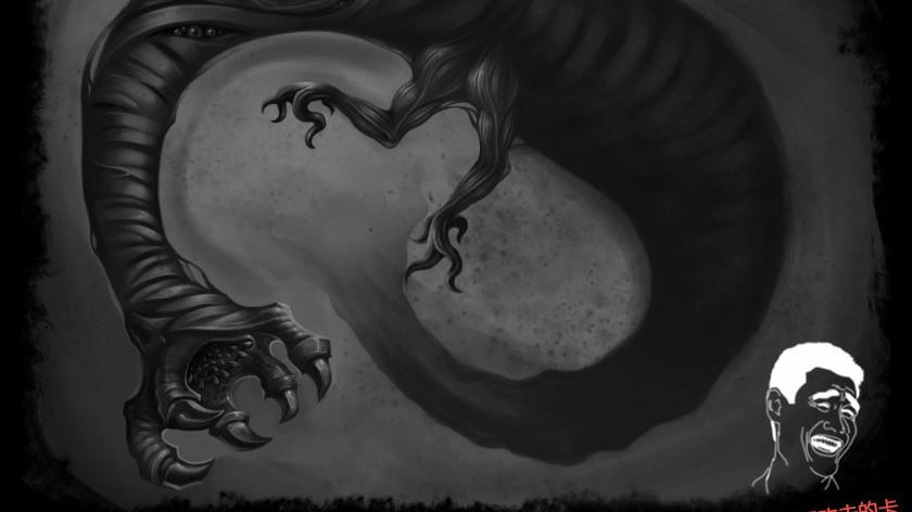 混沌海的生物绘画教程