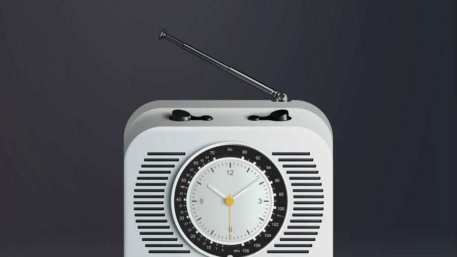 Photoshop鼠绘调频收音机图标教程