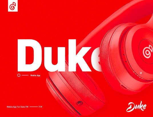 Duke 移动电台APP Design