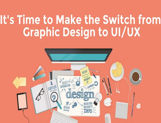 如何从平面设计转行到UI设计?