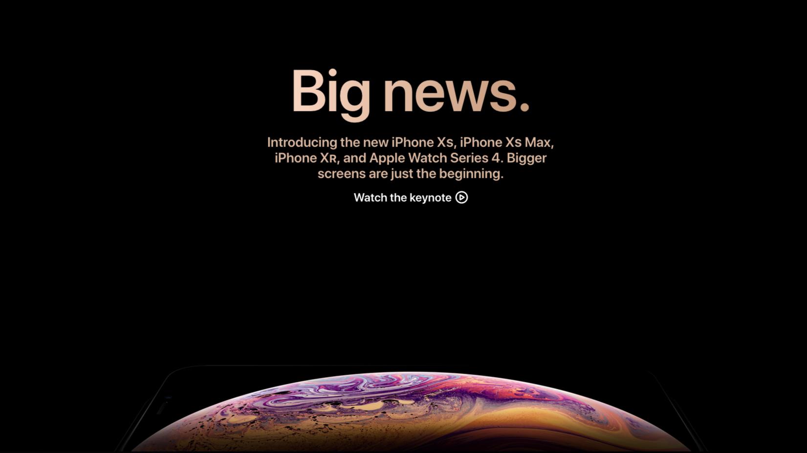 以一个极其刁钻的角度,洞悉 iPhone Xs 最大的看点